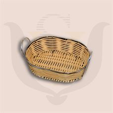 Picture of Wicker Basket - Stainless Steel